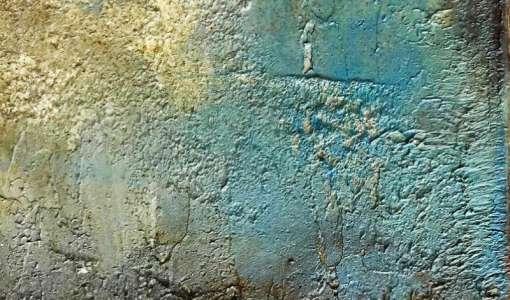 Oberflächengestaltung mit Rost und Patina