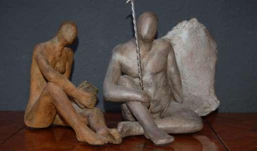 Die Figur - Gestaltungserfahrung und modellieren mit Ton