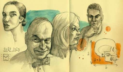 Porträtzeichnen -  schnell und einfach!