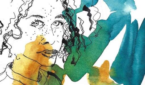 Porträts mit Pinsel, Feder und Stift