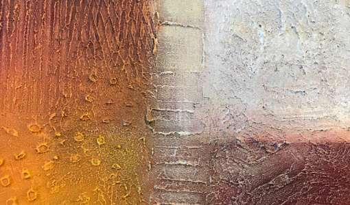 Spachteln und Strukturieren mit Acryl-Spachtelmasse