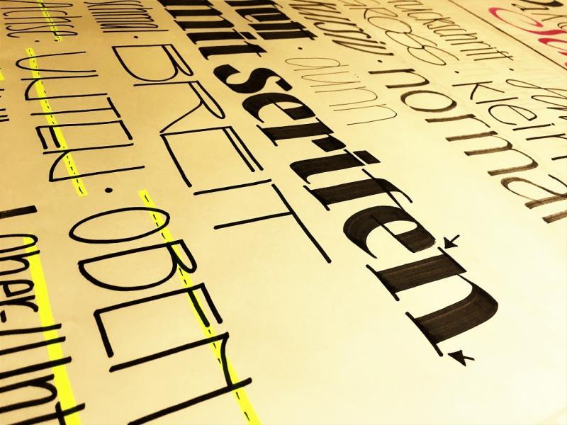 """Kalligrafie-Basics & """"1001 Schrift"""""""