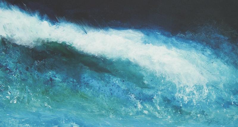 Wellen, Wolken, Wasser