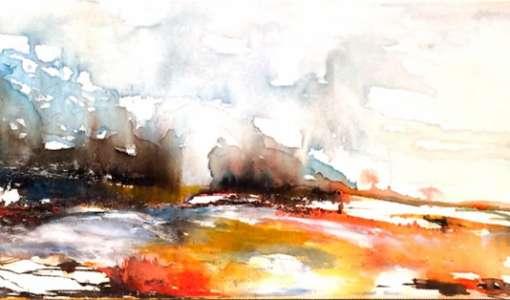 Aquarell-Landschaften