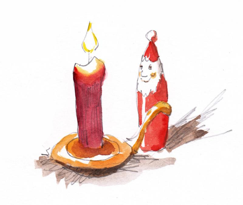 Sketch your Christmas Card!