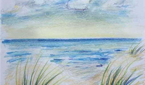 Reihe Zeichnen & Malen: Farb- und Kreidestifte für Landschaft/Raum und Weite