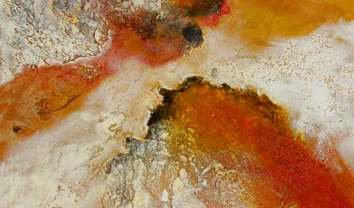 Entdeckungsreise Acrylmalerei - Strukturen und Oberflächen