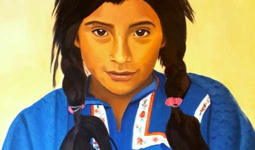 Arbeitstitel: Portraitmalerei