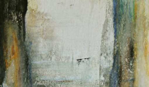 Das kleine Abstrakte - ausdrucksstarkes Arbeiten mit wasservermalbaren Ölkreiden