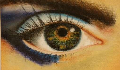 Reihe Zeichnen & Malen: Pastelle - Auge, Nase und Mund